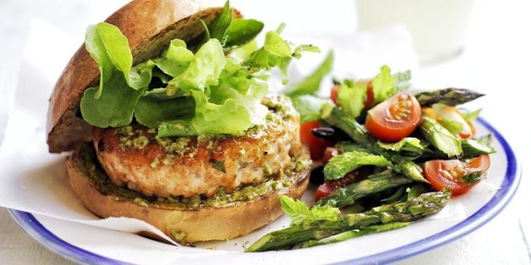 ... 50 min double salmon burgers salmon burger at fig olive salmon burgers