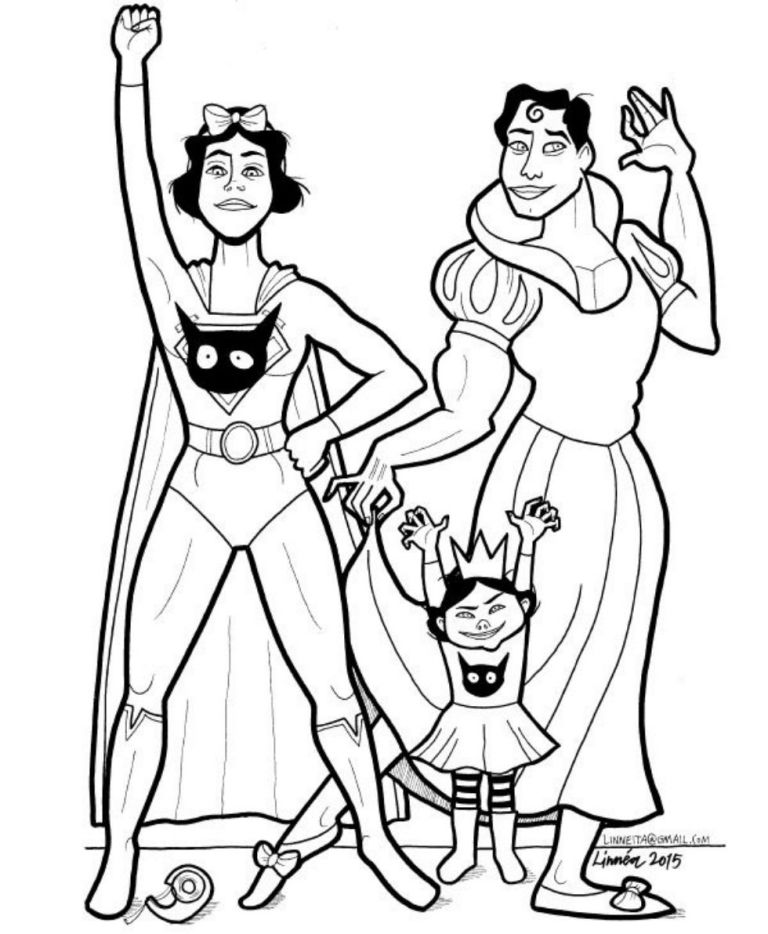 mom makes a coloring book of super soft superheroes to show son its ok to cry - Super Heroes Coloring Book