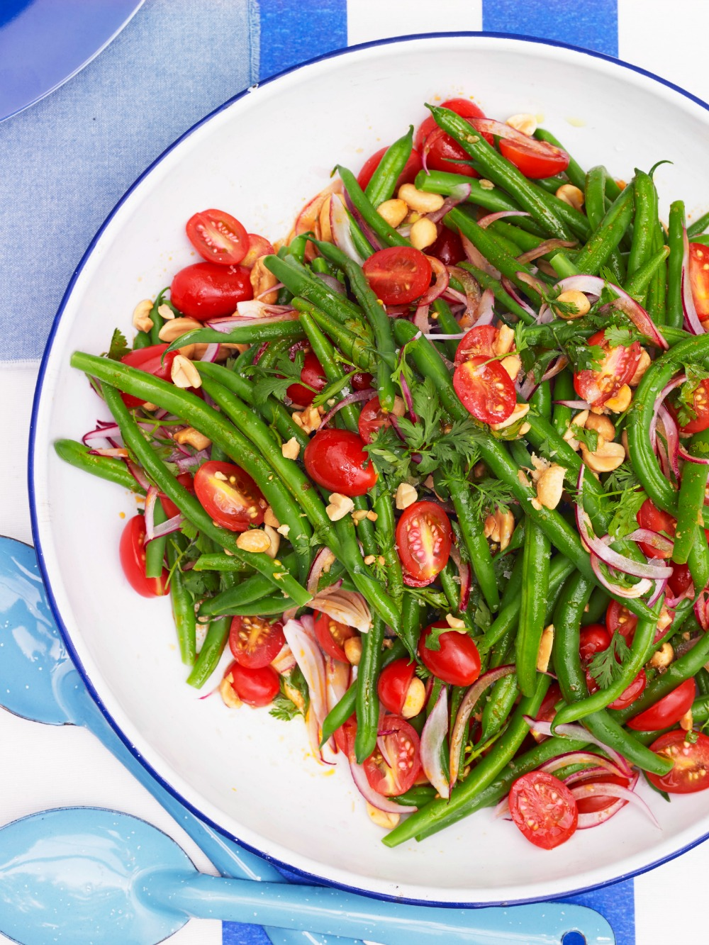 Green bean salad for Easy thanksgiving green bean recipes