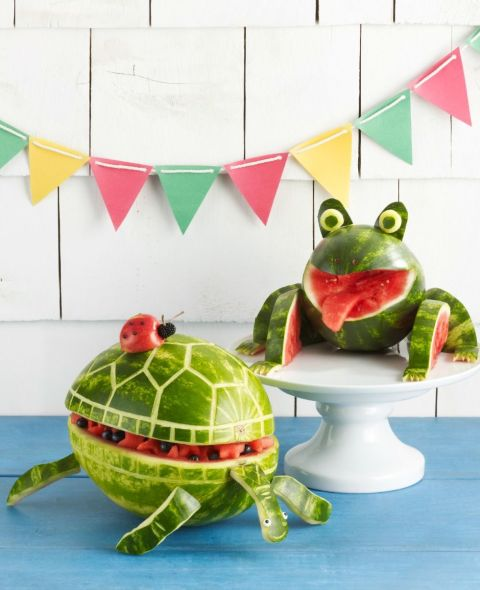 7 amazing watermelon sculptures that look almost too good for Exterieur rind