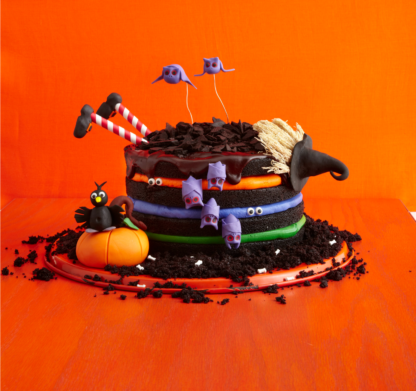 Black Chocolate Witch Cake Recipe How To Make A Witch Cake
