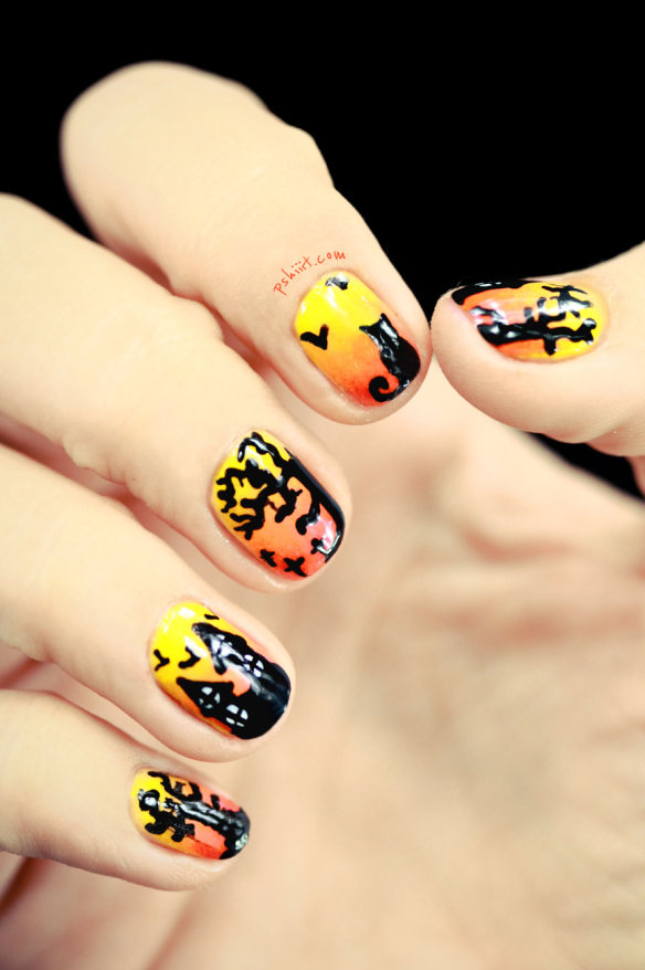 - 26 Spooktacular Halloween Nail Art Ideas