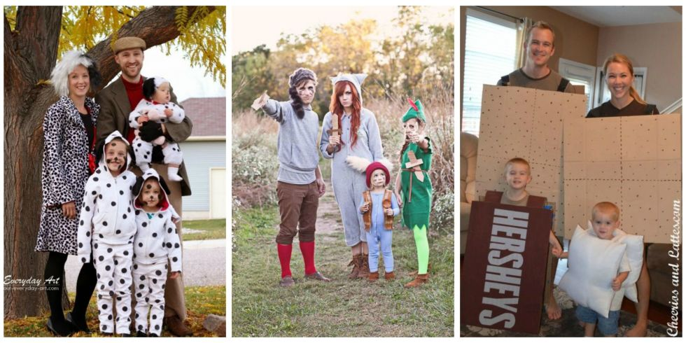 41 photos - Family Halloween Costumes For 4