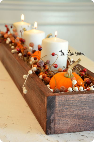 38 fall and thanksgiving centerpieces - diy ideas for fall table