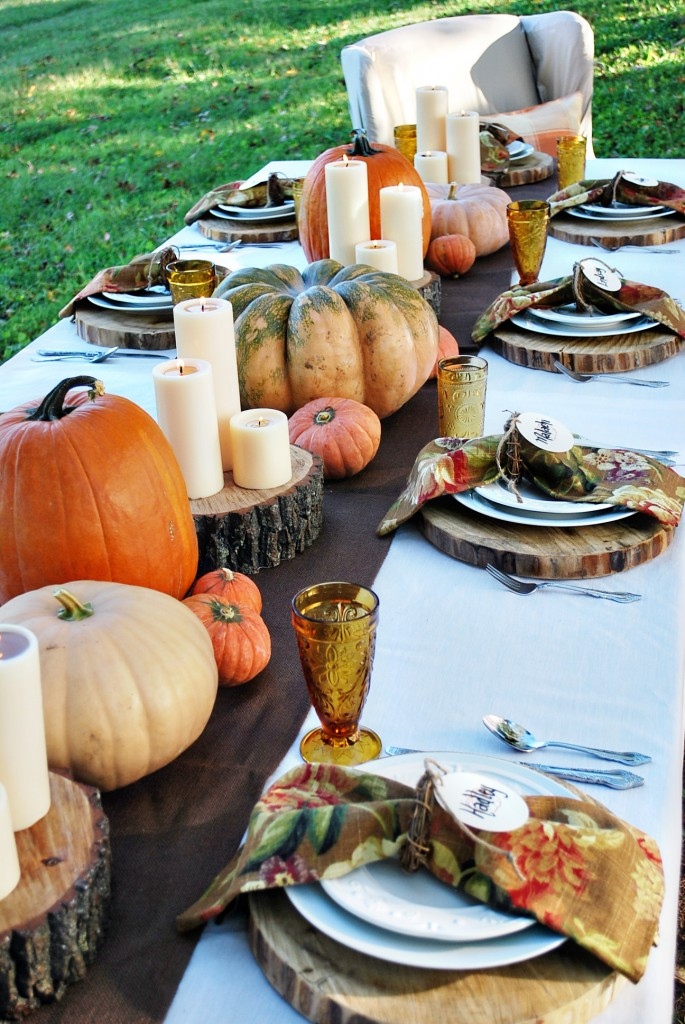 Thanksgiving Dinner Table Decorations 38 fall and thanksgiving centerpieces - diy ideas for fall table