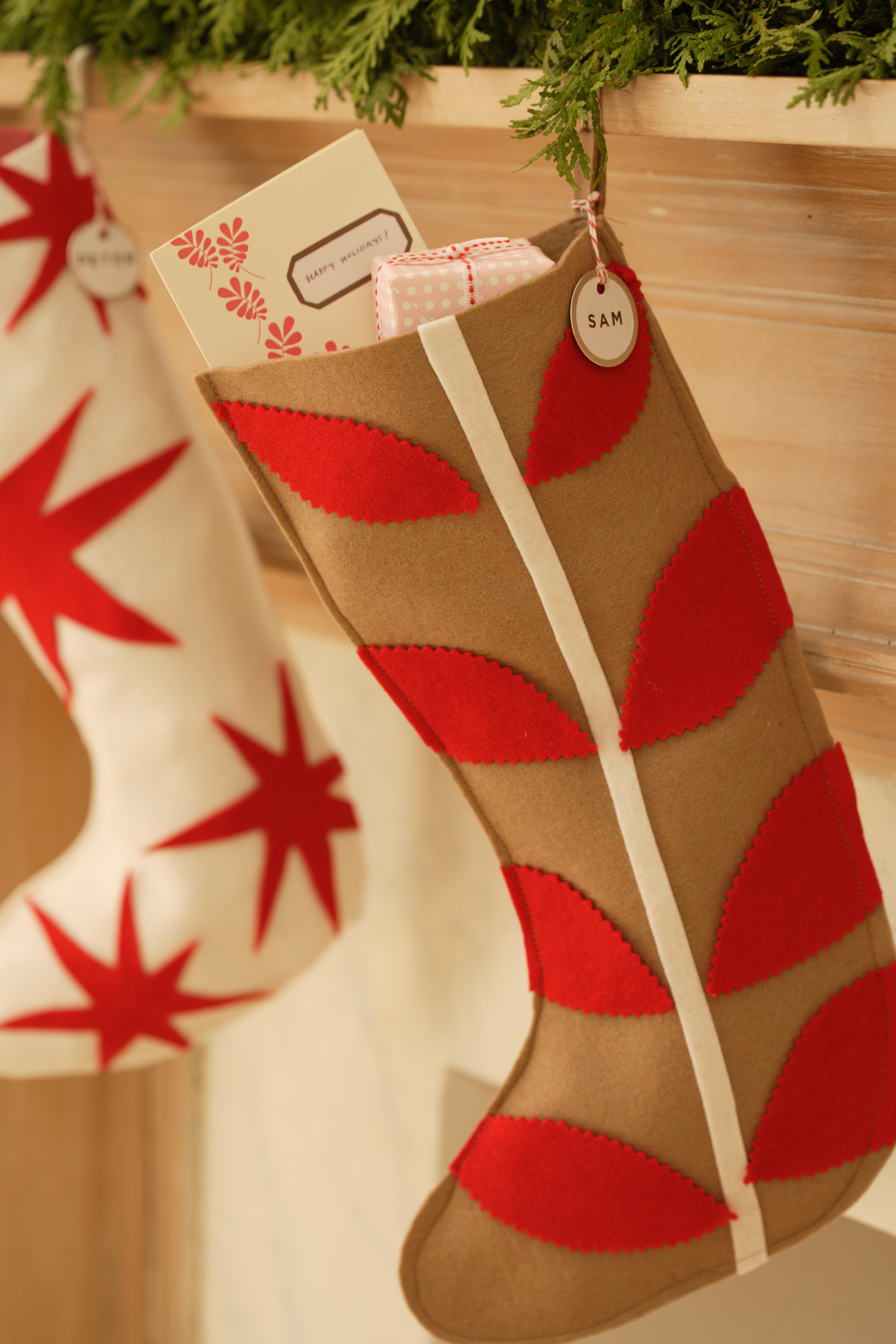 18 Diy Christmas Stockings How To Make Christmas