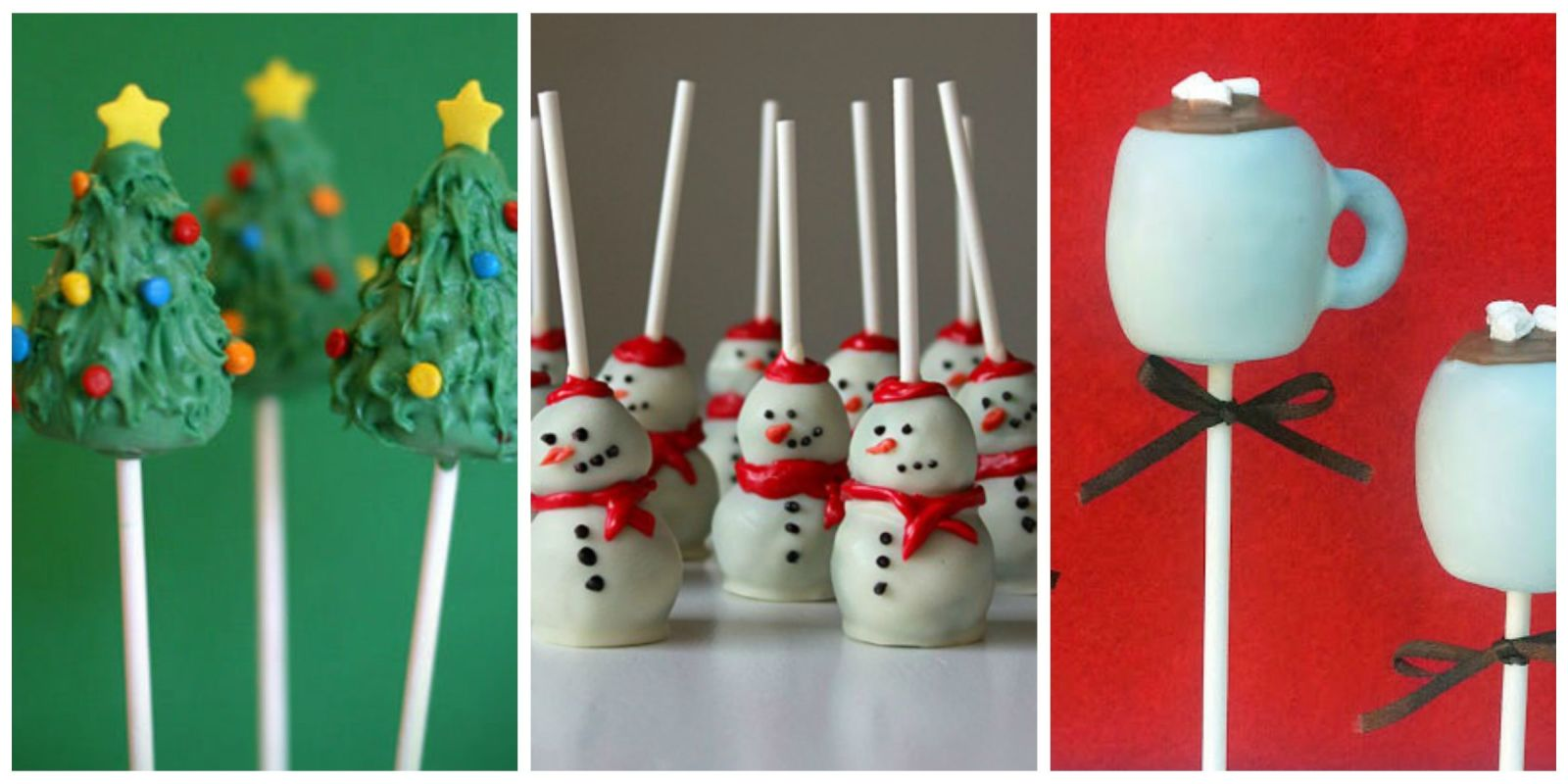 Cake Pop Christmas Decorating Ideas : 18 Christmas Cake Pops No One Will Be Able to Turn Down ...