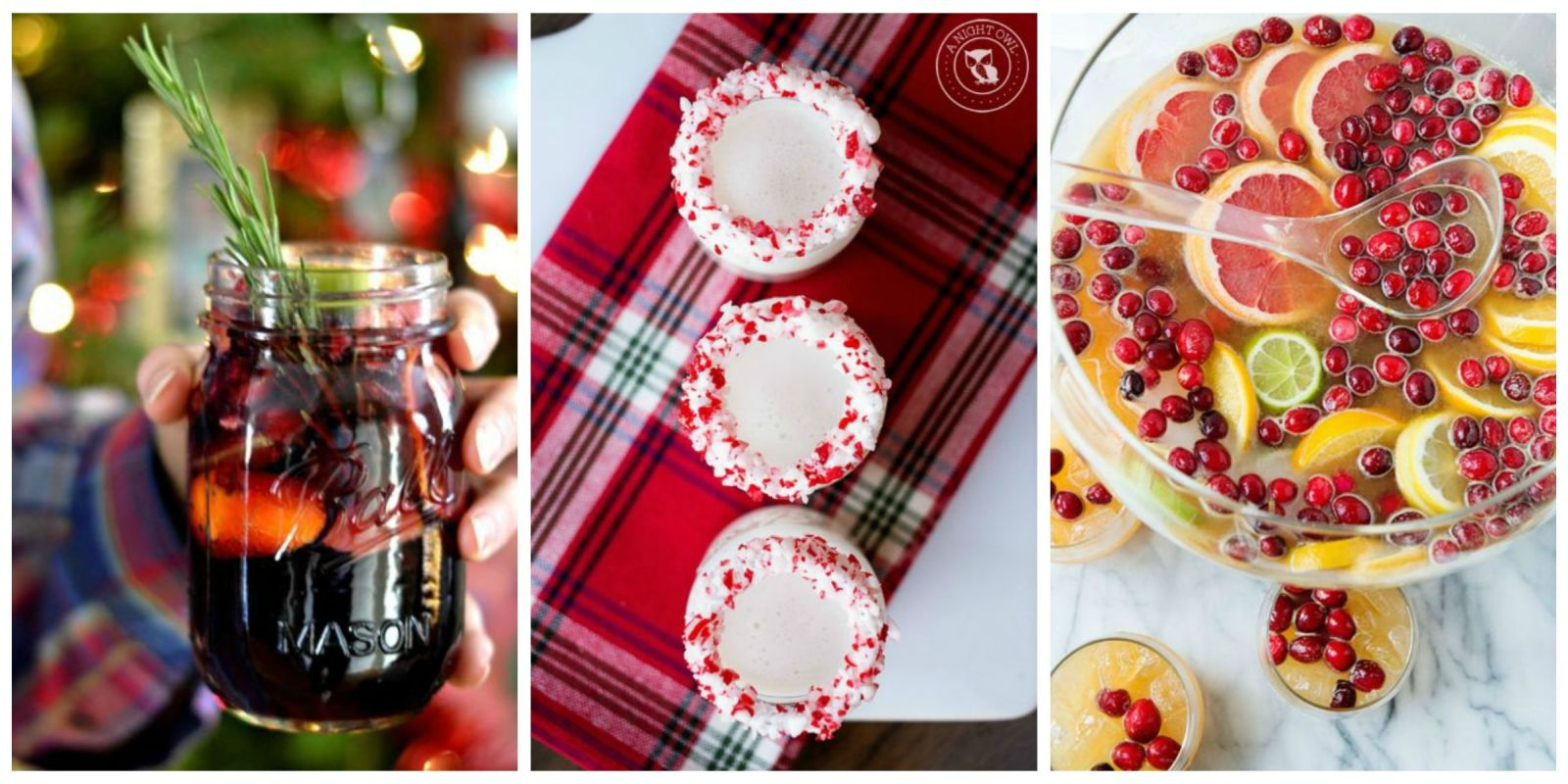 40 best christmas cocktail recipes easy alcoholic Simple holiday cocktails