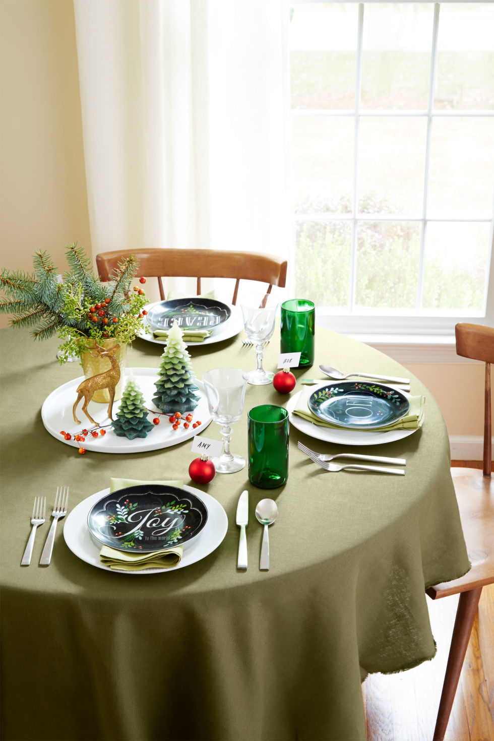 table decoration ideas for christmas