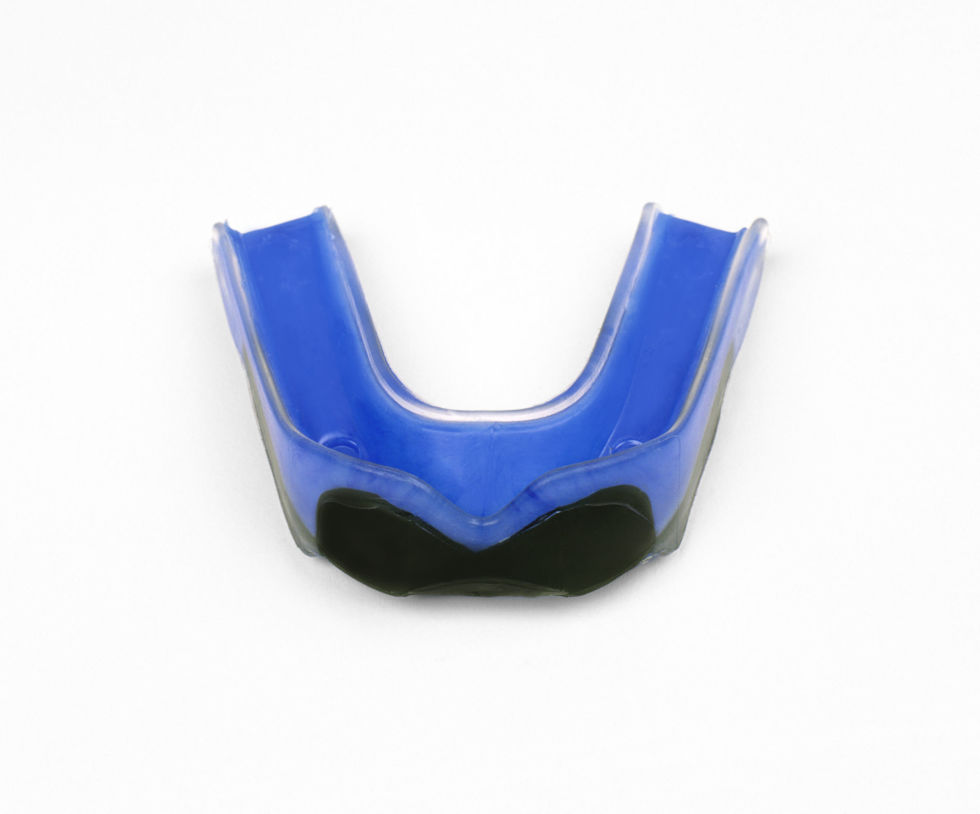 Snore guards like this one from the American Sleep Association move the jaw forward, opening  the airway to prevent or lessen snoring. One of the more expensive over-the-counter remedies, guards like this typically cost between $45 and $100.
