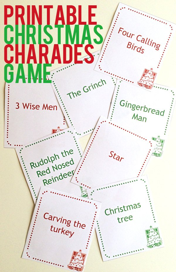 17 Fun Christmas Party Games for Kids - DIY Holiday Party Game Ideas