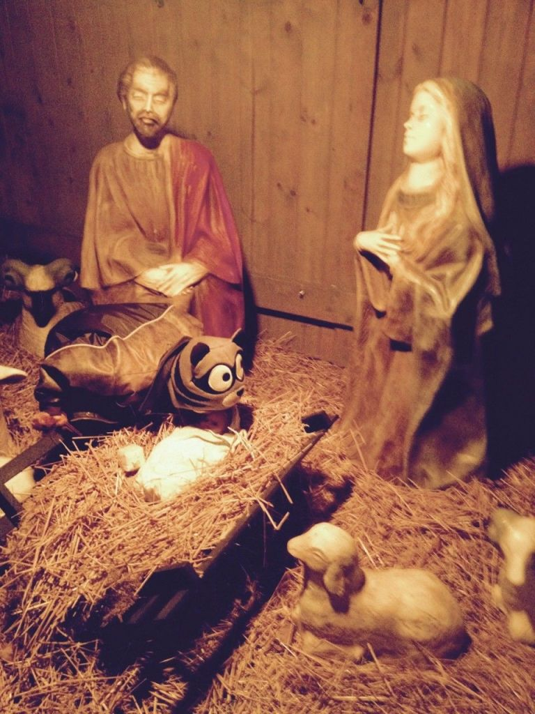 what these twins did after learning someone had stolen baby jesus