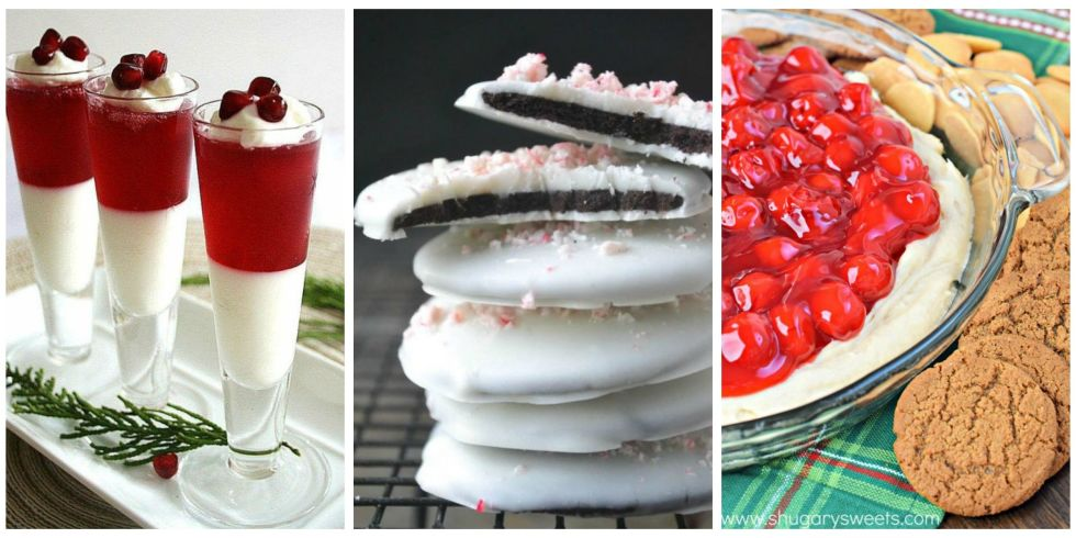 12 No Bake Christmas Desserts - Oven Free Holiday Dessert Recipes