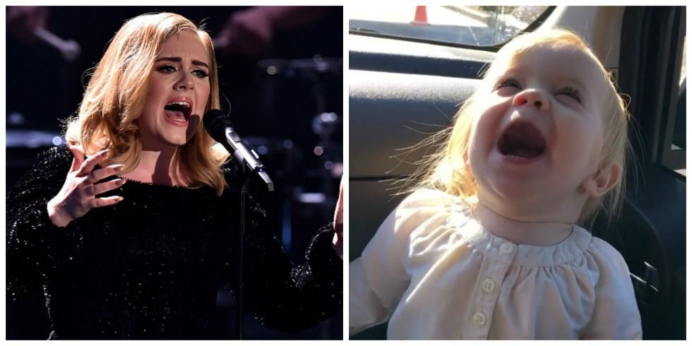 The 7 Most Hilarious Videos of Babies Belting Out Adele's ...