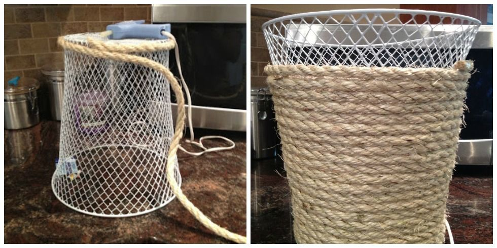 Dollar Tree Home Decor Ideas Part - 27: Waste Basket