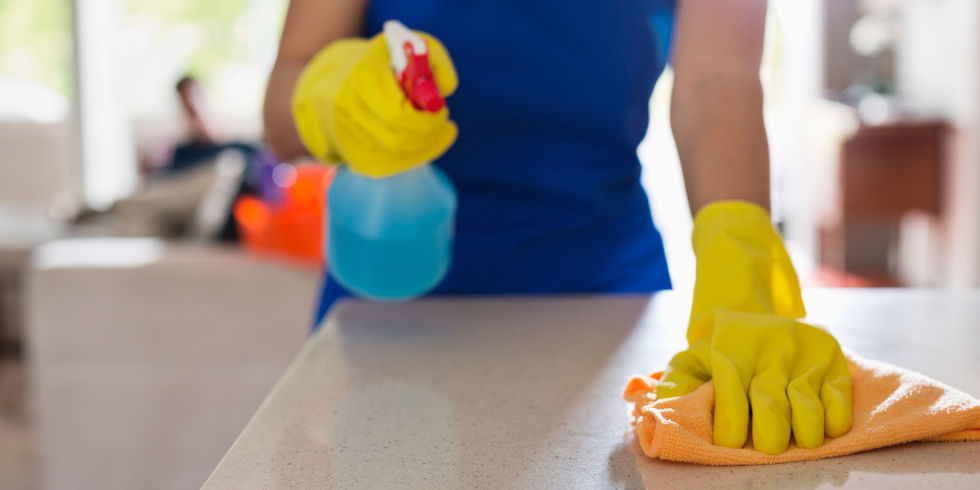 How To Clean A Kitchen kitchen cleaning checklist - how to clean a kitchen