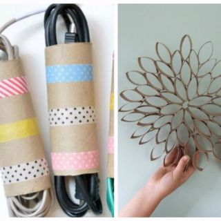 before you toss that paper towel roll take a look at these creative diy crafts