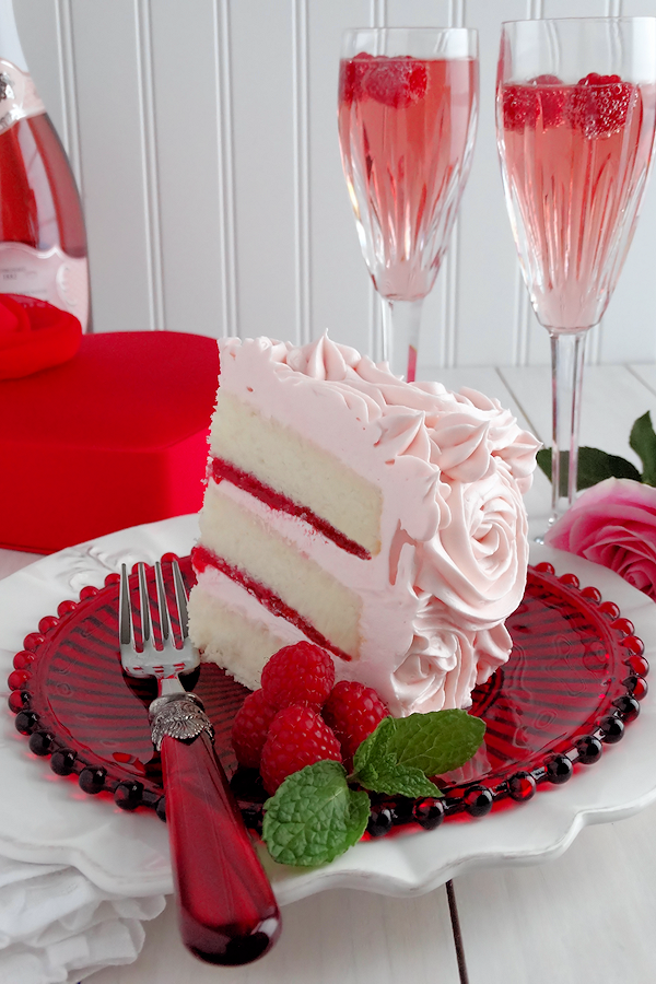 Pink strawberry cake recipe uk