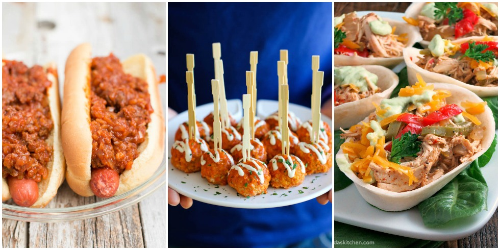 25 Easy Super Bowl Appetizers Slow Cooker Appetizer