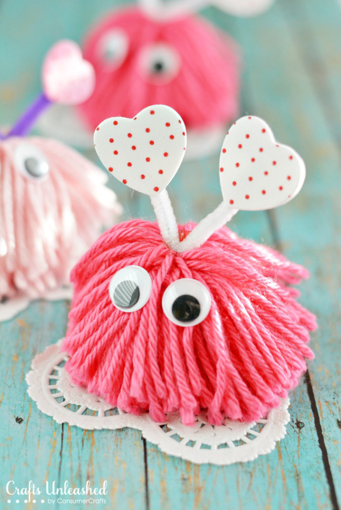 22 valentines day crafts for kids fun heart arts and crafts projects for toddlers and kids - Valentine Ideas Crafts