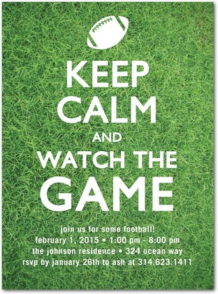 fun super bowl party ideas - womansday, Party invitations