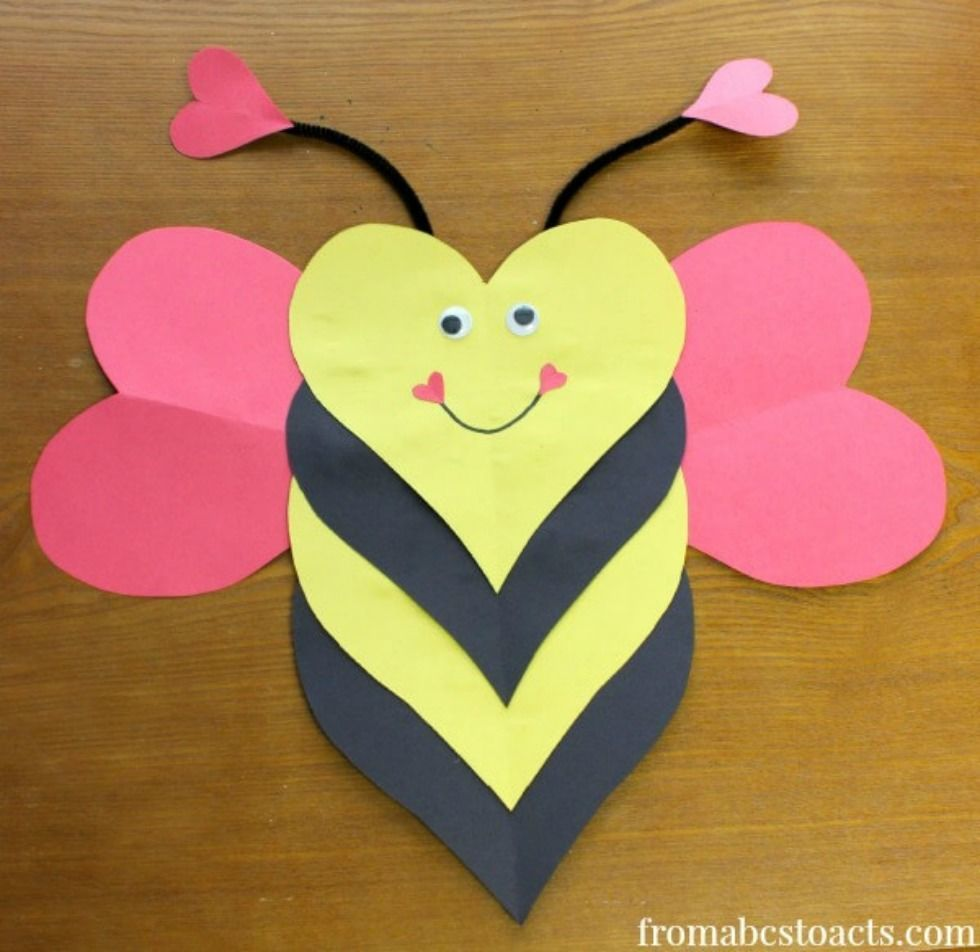 15 Sweet Kids Crafts For Valentines Day Craftyamy I 1000 Images