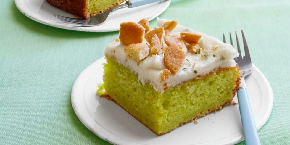 Lime Poke Cake With Cool Whip