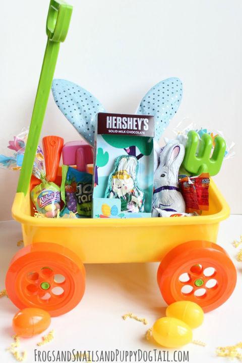 30 easter basket ideas for kids best easter gifts for babies garden themed easter basket negle Gallery