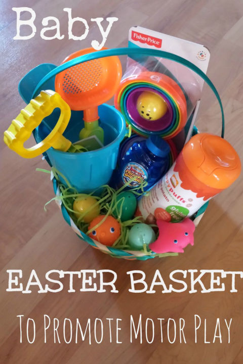 30 easter basket ideas for kids best easter gifts for babies baby easter basket to promote motor play negle Image collections