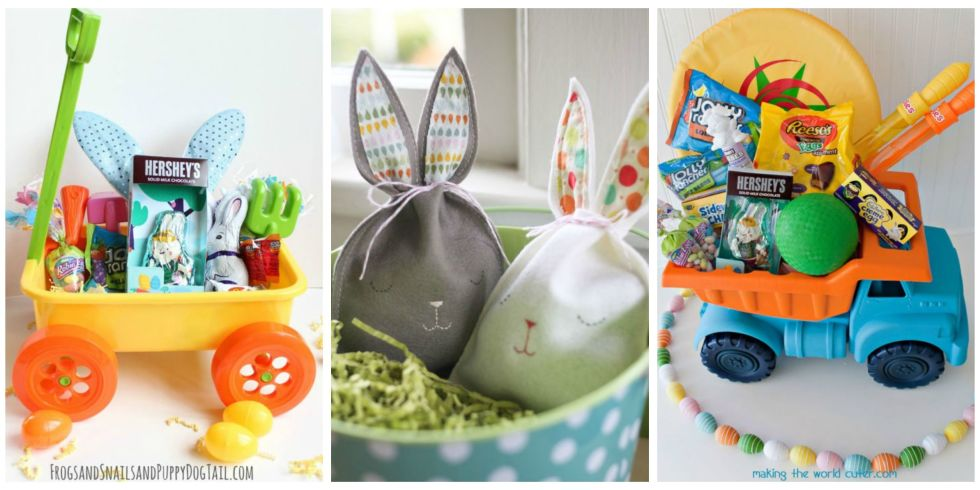 30 easter basket ideas for kids best easter gifts for babies 30 photos negle Image collections