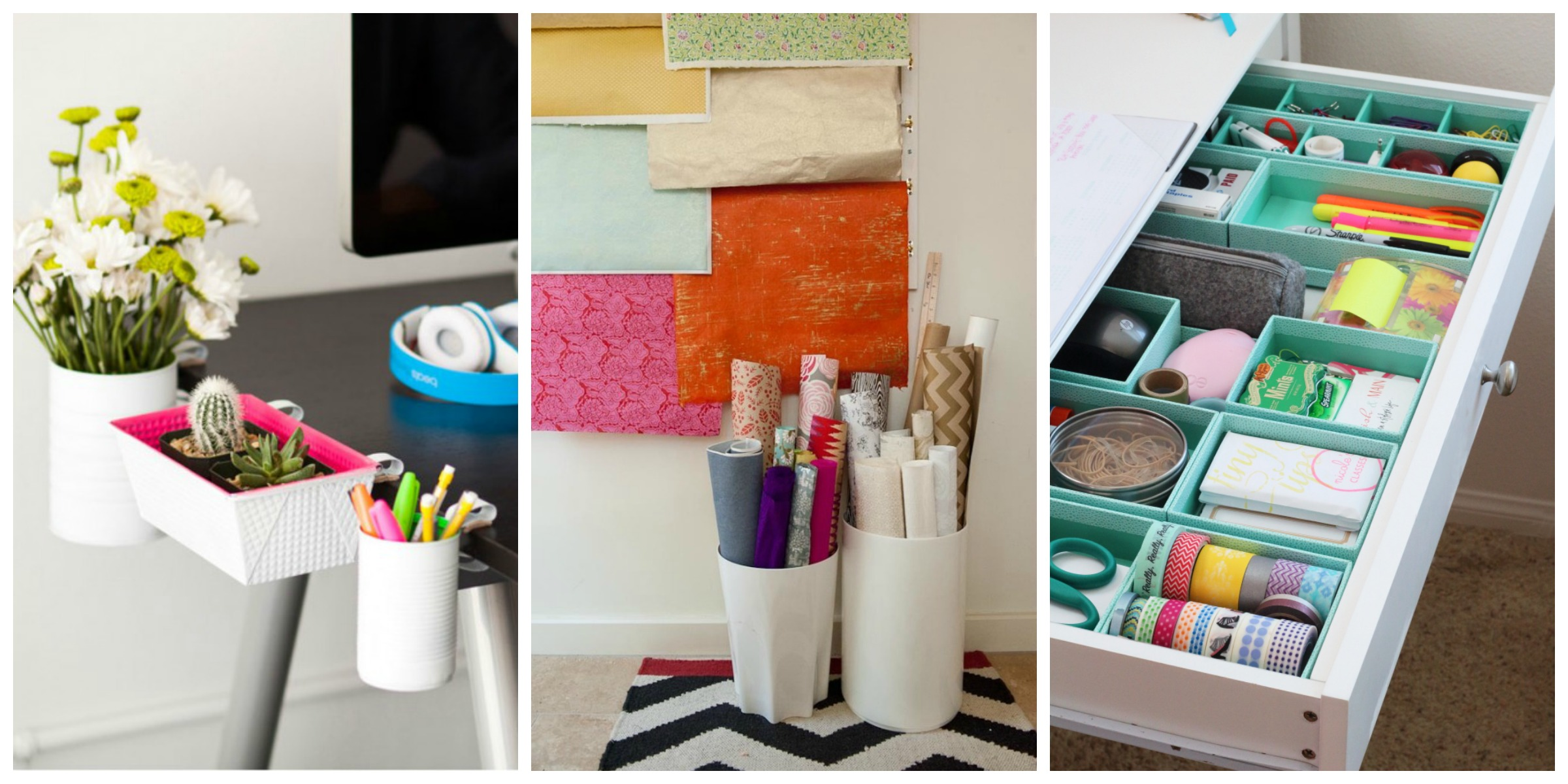 Ways to organize your home office desk organization hacks Organizing your home
