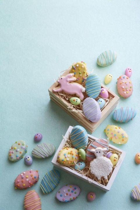 Sugar Cookie Bunnies and Lambs