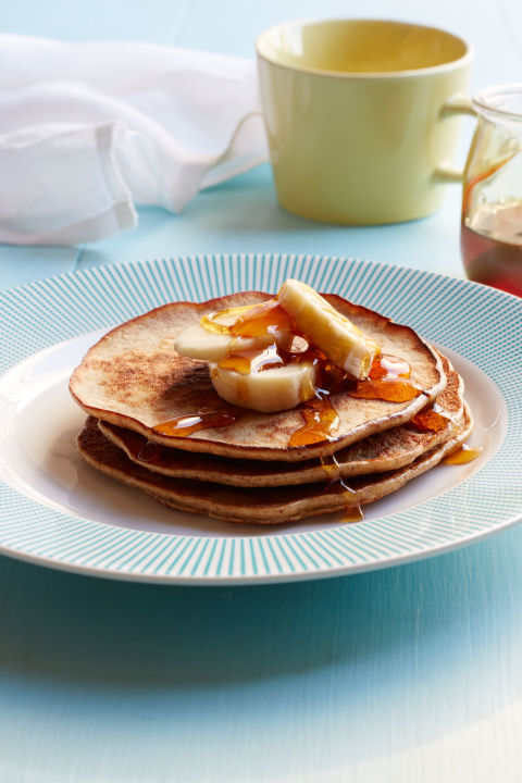 Banana and Almond Butter Pancakes