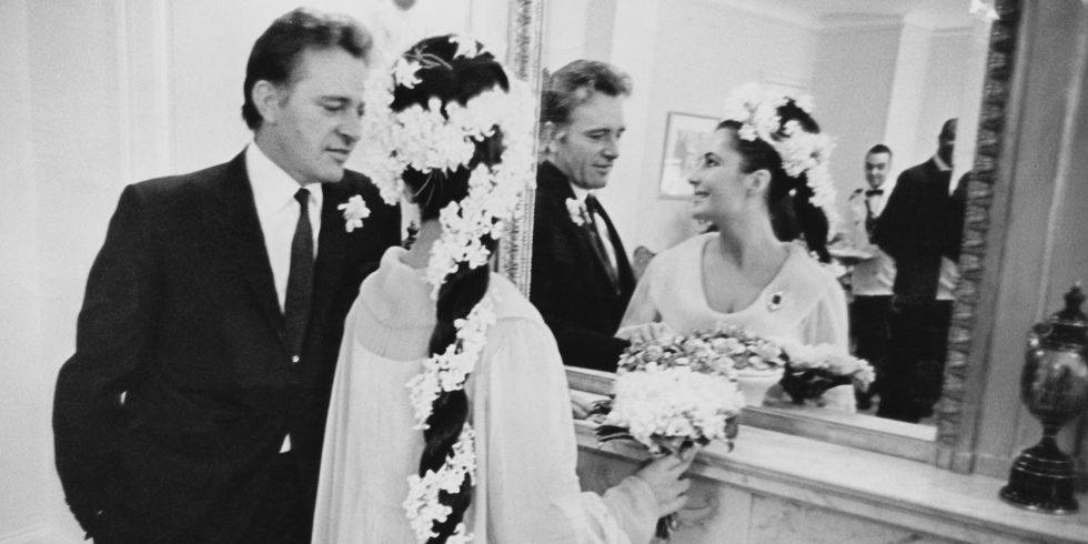 Pics For > Elizabeth Taylor And Richard Burton Funeral