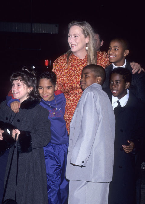 Streep practiced the violin 6 hours a day for 8 weeks leading up to her portrayal of inner-city music teacher Roberta Guaspari.