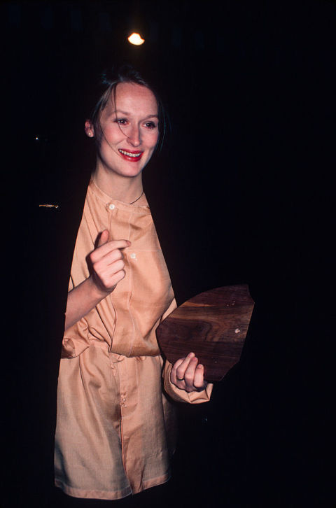 Streep grew up in Bernardsville, NJ, and served as a waitress at the Hotel Somerset in her youth. She also supported herself while at the Yale School of Drama by waitressing and typing.