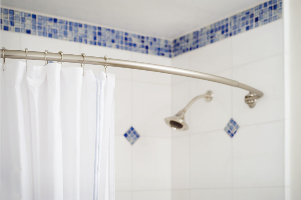 Mold and mildew attacking your shower curtain liner? Throw it in the wash with a few towels, which will help scrub it clean, then hang it back up to dry.