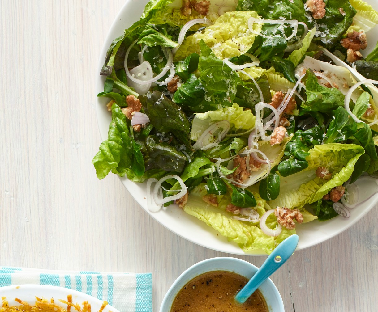 Best Spring Salad with Mint, Walnuts, and Parmesan Recipe ...