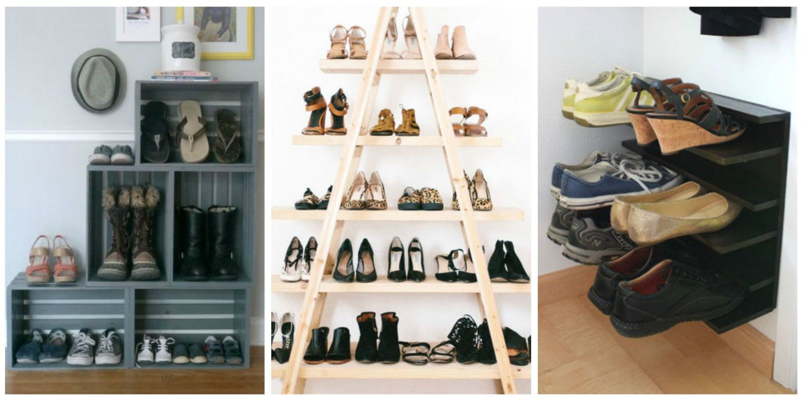 shoe storage ideas diy shoe storage