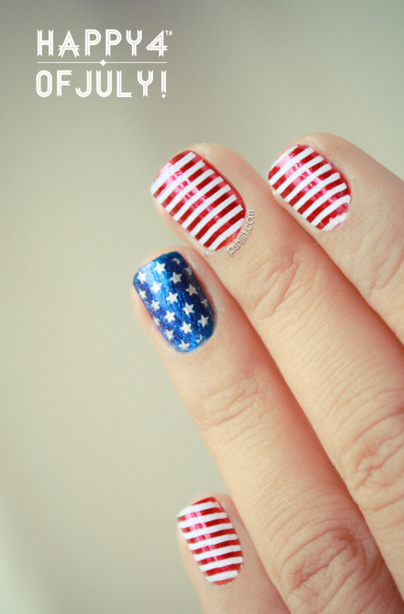 Memorial day nails 4th of july nails prinsesfo Image collections