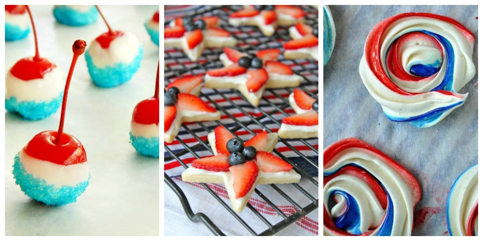 27 Easy 4th Of July Desserts Red White And Blue Recipes