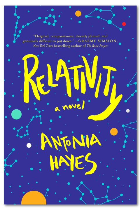Ethan is a 12-year-old with a brilliant mind for physics. Raised by a single mother, he begins to wonder about his dad's identity when he's suddenly hospitalized, the reason possibly linked to a tragic incident from his infancy. Ethan and his parents are pulled back together and must confront the regrettable events that once tore them apart. Relativity by Antonia Hayes, $26; Amazon.com