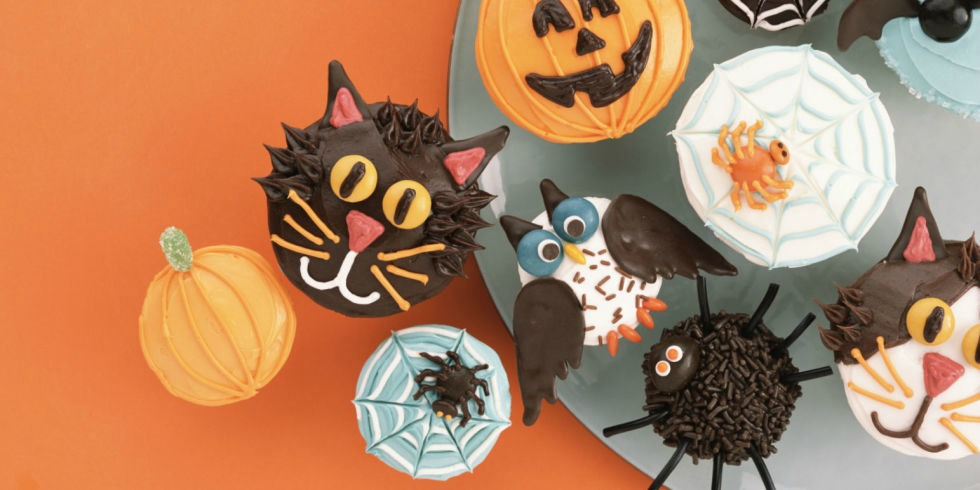35 halloween cupcake ideas recipes for cute and scary halloween desserts - Cupcake Decorations For Halloween