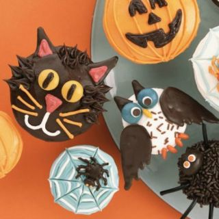 Enchant guests with a treat from our cauldron of spooky cupcake recipes. 30 Easy Halloween Cakes   Recipes   Ideas for Halloween Cake