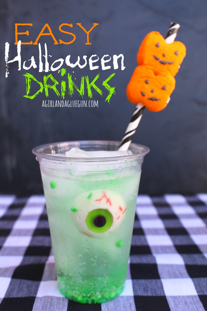 25 easy halloween cocktails drinks recipes for halloween drink ideas - Spiked Halloween Punch Recipes