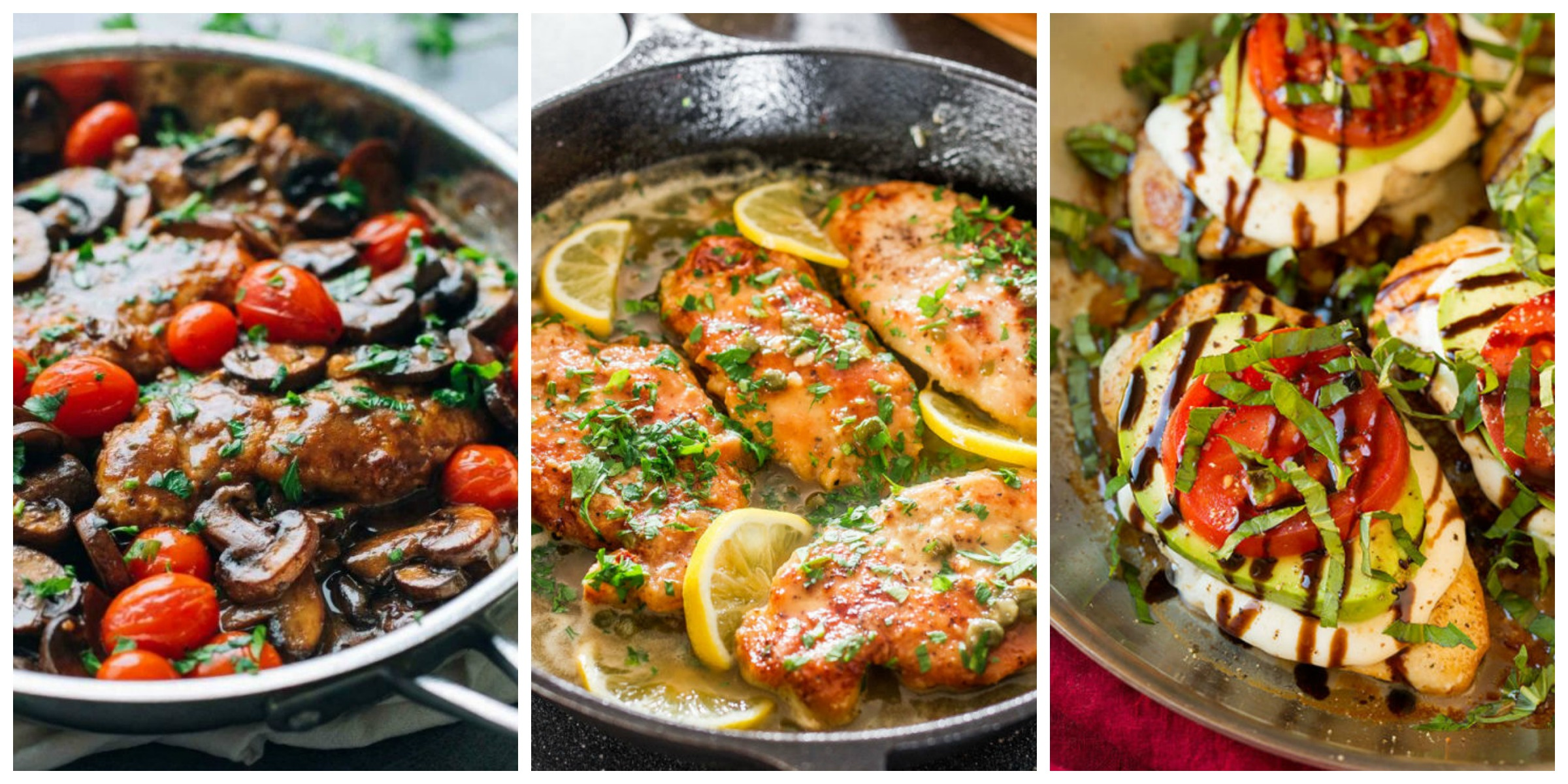 17 Italian Chicken Recipes - Quick and Easy Chicken Dishes Italian Chicken Recipes