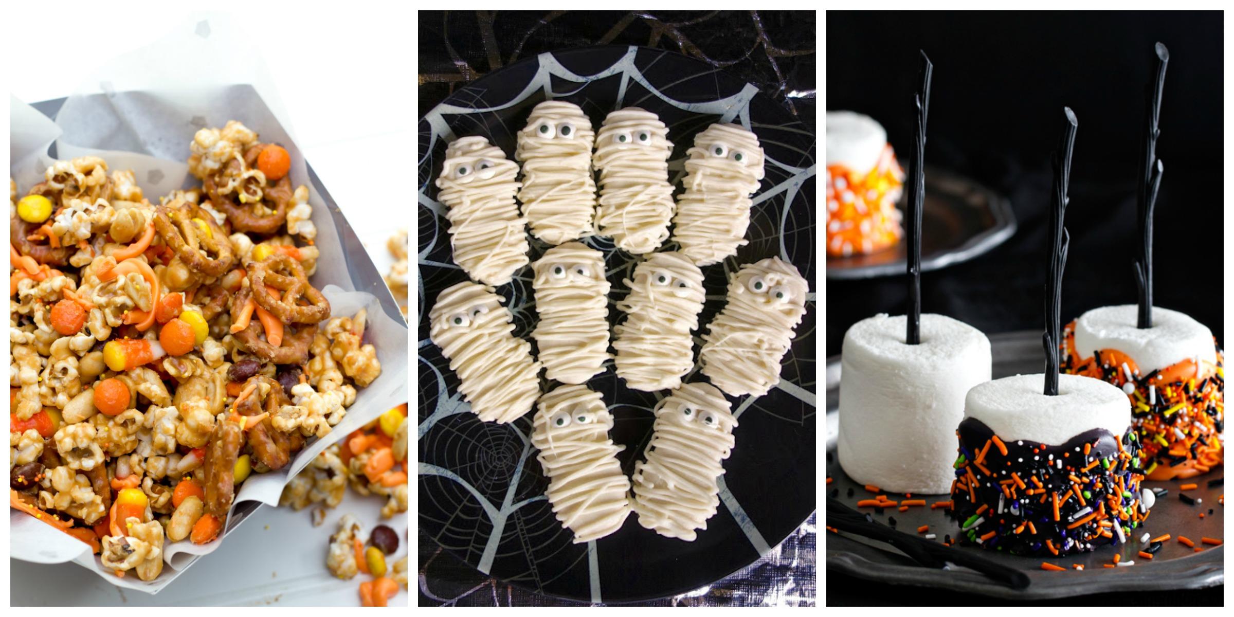 22 easy halloween party food ideas cute recipes for for Children s halloween party food ideas