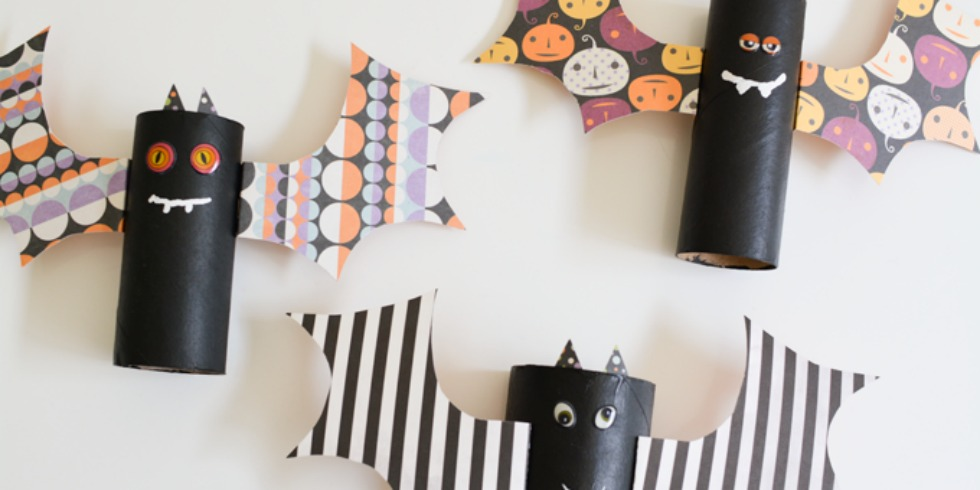 20 easy halloween crafts for kids fun halloween craft ideas for children - Easy Kids Halloween Crafts Ideas