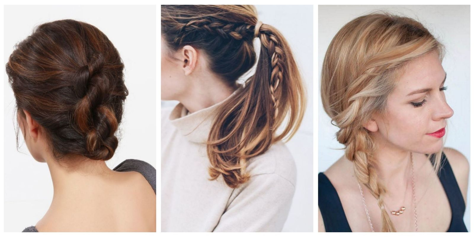 The 10 Easiest Summer Hair Ideas On Pinterest Easy