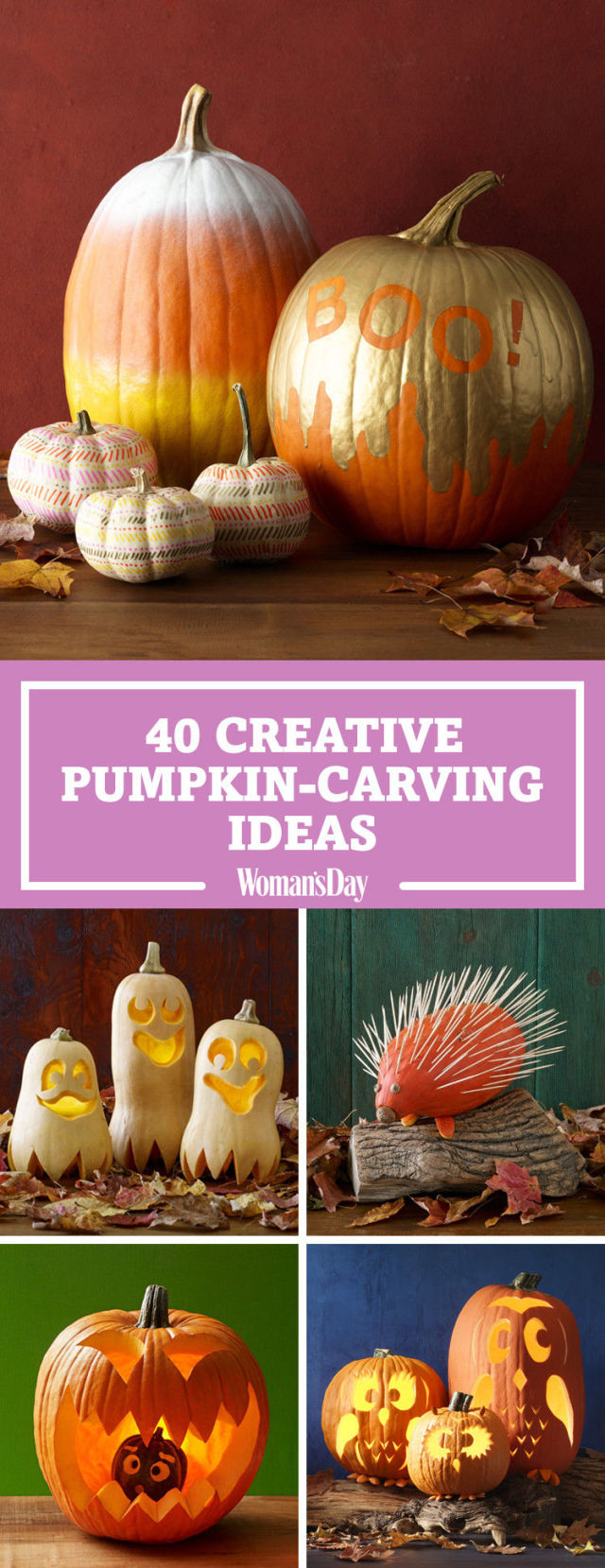 60+ Best Pumpkin Carving Ideas Halloween 2017 - Creative Jack o ...